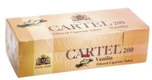 Цигарени гилзи CARTEL Ванилия 200