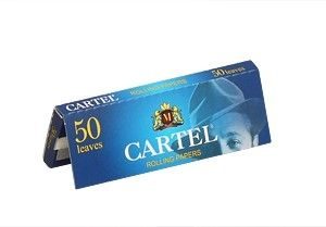 Хартийки за свиване Cartel син къси
