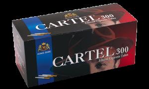 Празни цигари с филтър Cartel 300 - 30 кутии