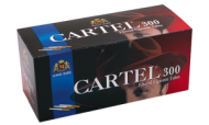 Cigarette filtered tubes CARTEL 300  x 30 boxes