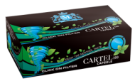 Cigarette filtered tubes CARTEL 100 Capsule 20 mm x 40 boxes